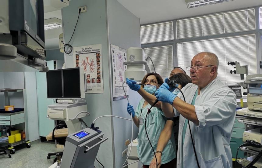ВМА с нов апарат за бял дроб