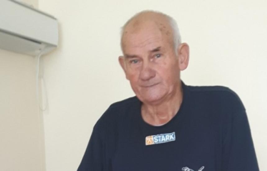 Мъж проходи след 10 години в количка