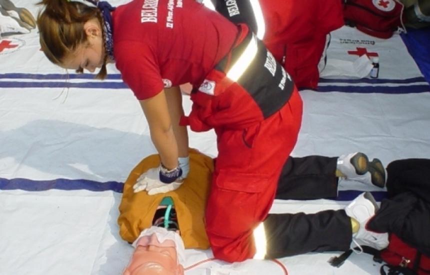 БЧК обучава по първа помощ при пожар