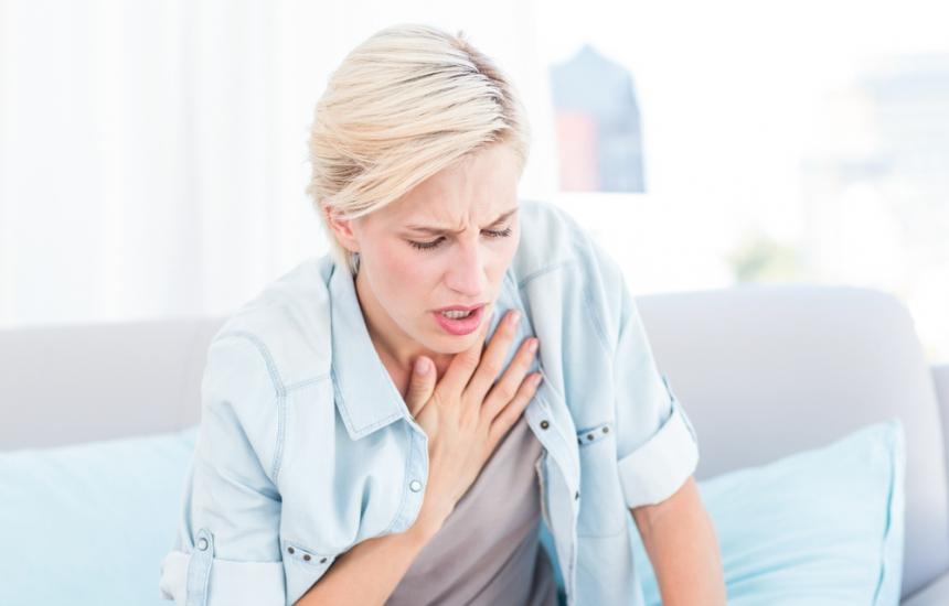 Задухът издава белодробната емболия