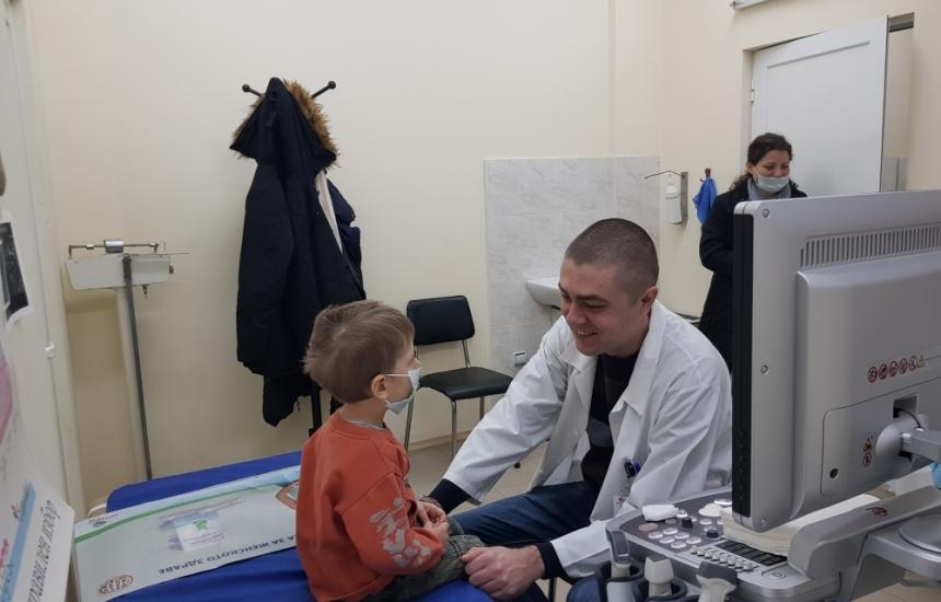 Пироговци прегледаха 375 деца от Видин