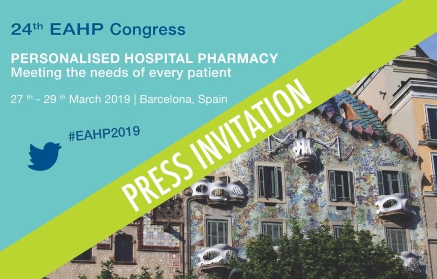 Болничните фармацевти се събират в Барселона