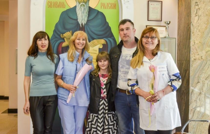 Първото бебе на болница Тракия на 10 години