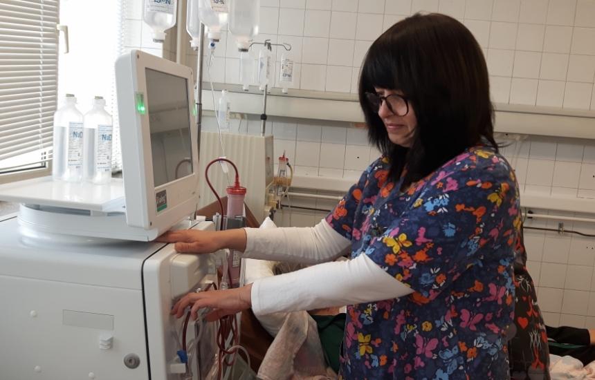 Нова апаратура за хемодиализа в УМБАЛ Бургас