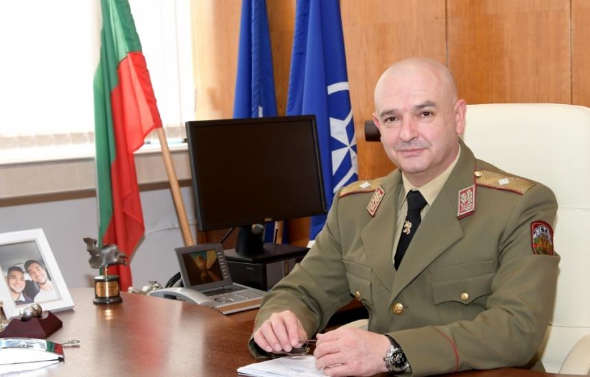 Шефът на ВМА става генерал-майор на Гергьовден