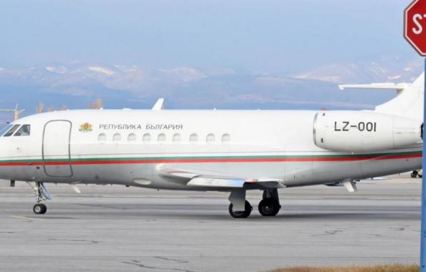 Фалконът отлетя с екип от Пирогов за Москва