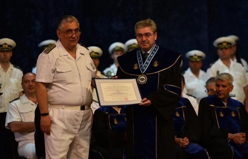 Проф. Красимир Иванов стана доктор хонорис кауза