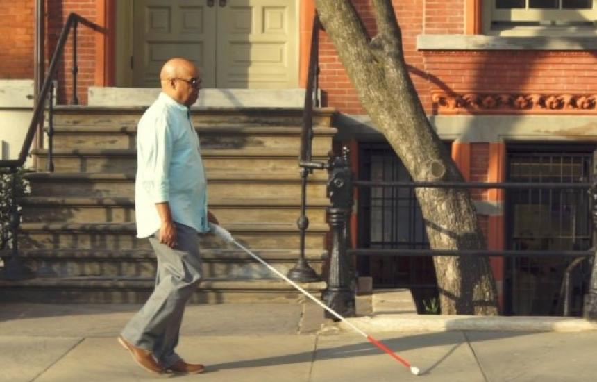 Сляп инженер измисли умен бастун