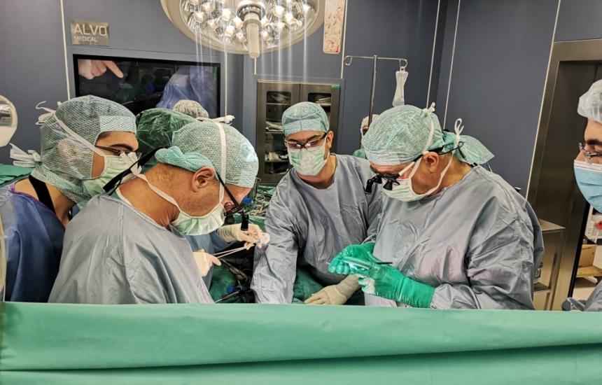 Трансплантираха черен дроб във ВМА