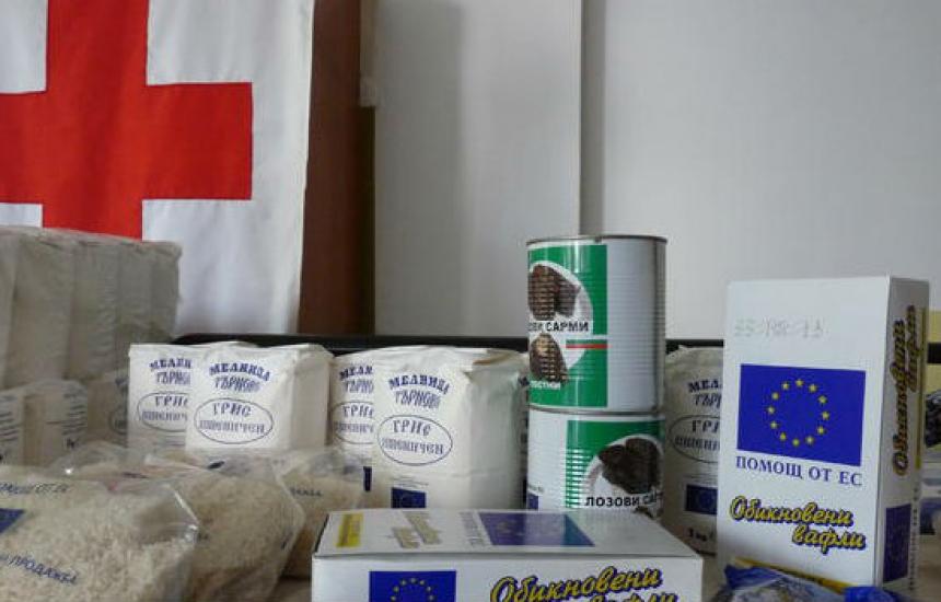 БЧК започва раздаването на продукти от транш II