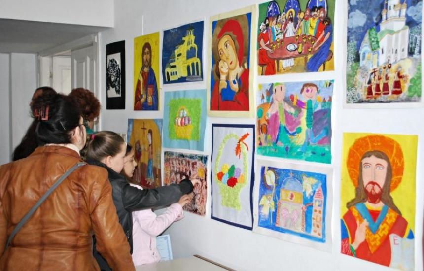 Благотворителна изложба в подкрепа на онкоболни деца