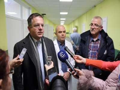 Ремонт за 255 хил. в Първа МБАЛ в София