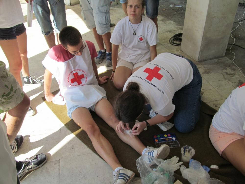 Състезание за първа долекарска помощ