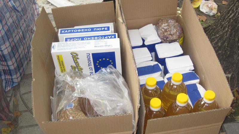 БЧК започва раздаването на храна