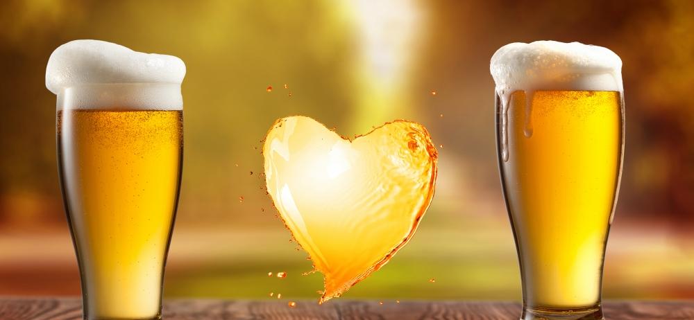 Бира с мярка пази сърцето