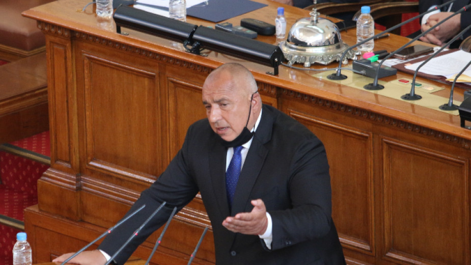 Борисов отчете мерките пред парламента