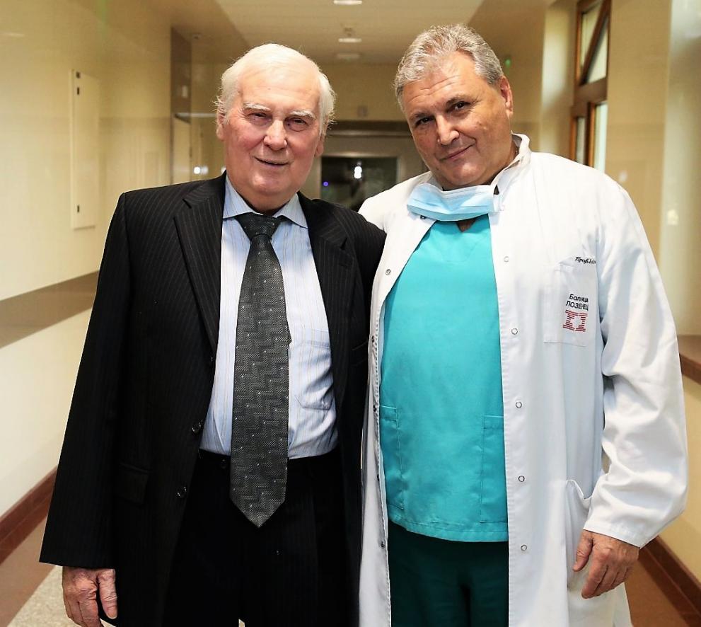 Изписаха пациента с присаден бял дроб