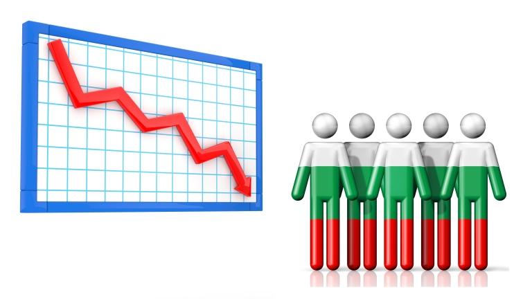 Населението на България падна под 7 милиона