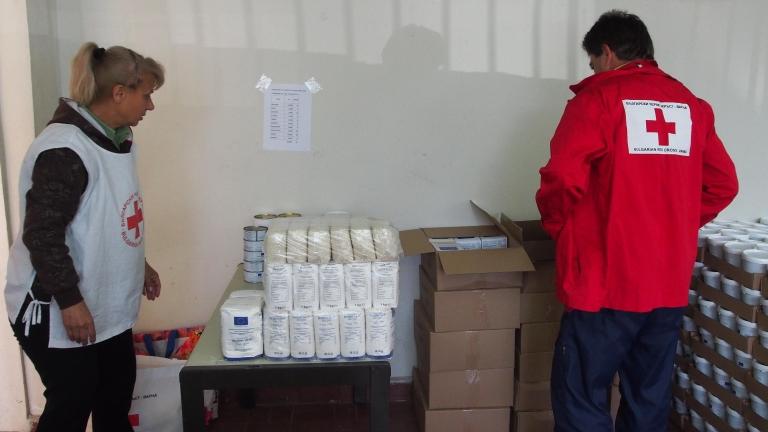 Започва раздаването на храна за хора в нужда