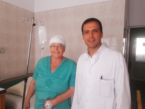 В Пирогов спасиха жена с мозъчен тумор