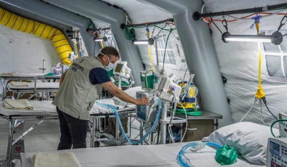 Чехия прави полева болница